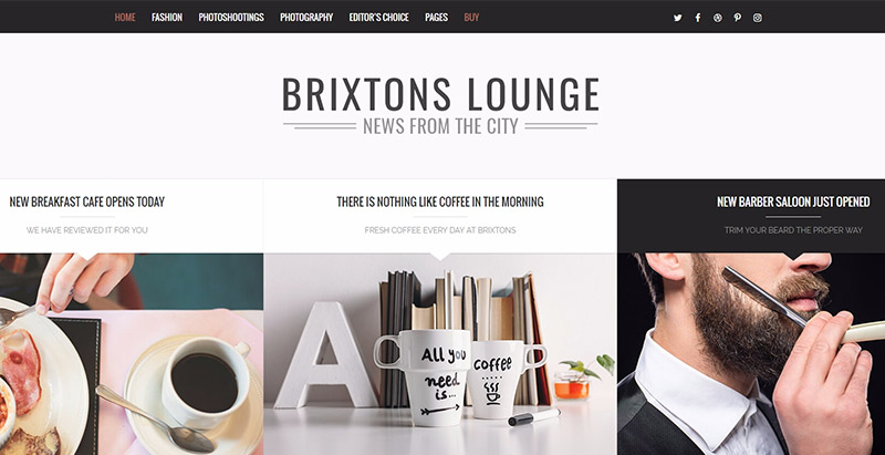 Các chủ đề wordpress được tối ưu hóa SEO Brixton
