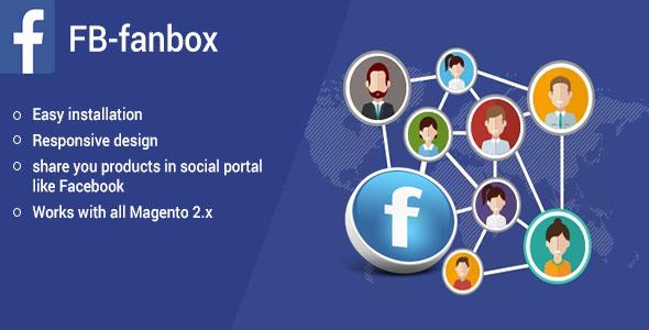 Fb fanbox plugin magento pour partage social