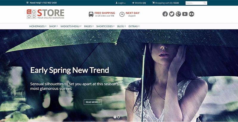 10 temas para crear una tienda en línea con WordPress   BlogPasCher
