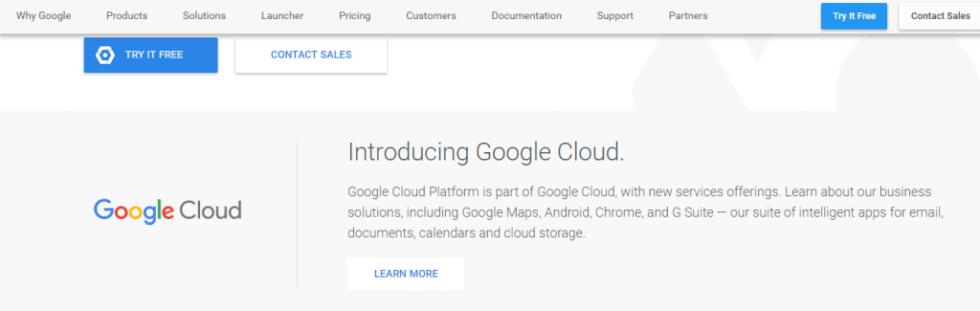 Google cloud presentation
