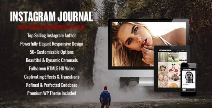 meilleurs plugins WordPress pour organiser des concours - Instagram journal