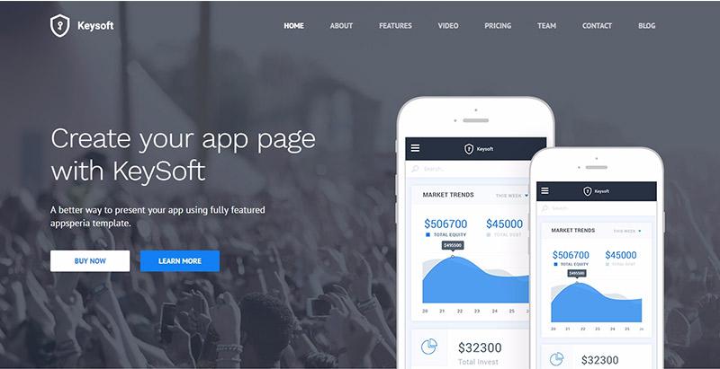 10 thèmes WordPress pour créer le site Web d'une app Mobile ou d'un logiciel