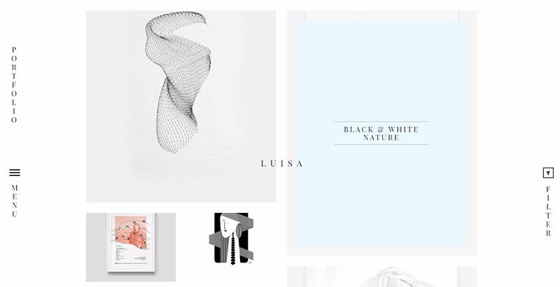 luisa-10-themes-wordpress-minimalistes-creer-site-web-agence-portfolio-blog-entreprise