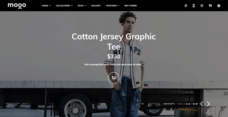 Mogo woocommerce theme wordpress