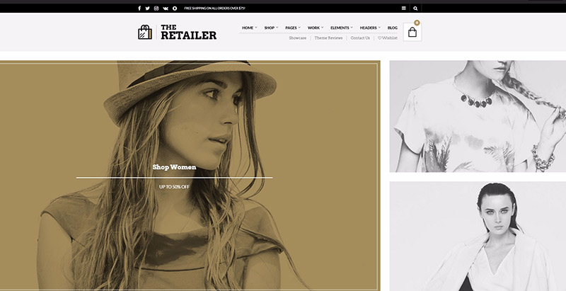 The retailer themes wordpress creer site web ecommerce 1
