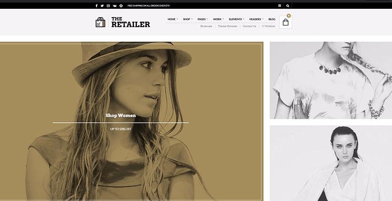 The Retailer Themes Wordpress Creer Site Web Ecommerce
