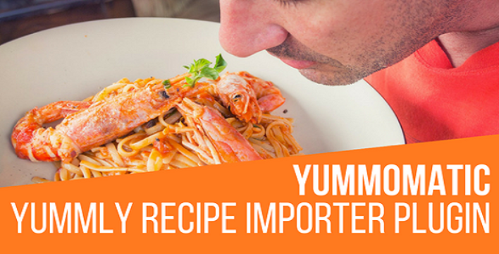 Yummomatic automatic recipe post generator plugin for wordpress