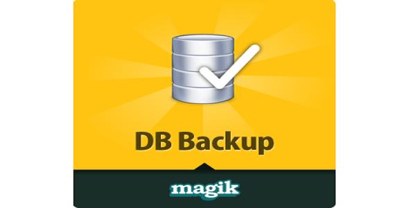 Db backup magento plugin để sao lưu