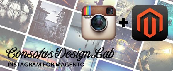 Instagram for magento plugin magento pour partage sliders