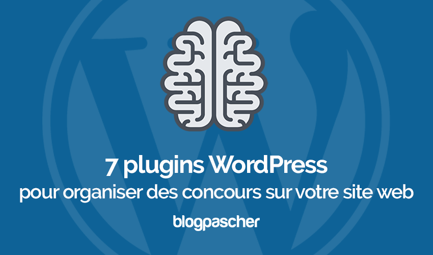 Plugin Wordpress Organiser Competition Concours Site Web