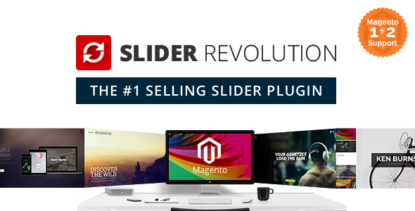 Slider revolution plugin magento pour partage sliders