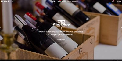 Basel Themes Wordpress Creer Site Web Vente Vin Viticulture