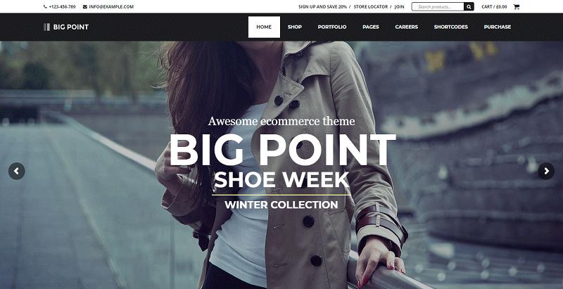 1653bcfa8d96 Big Point è un tema WordPress elegante e versatile