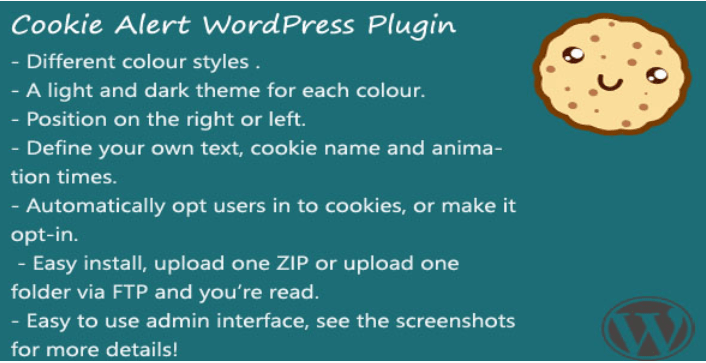 Cookie alert plugins wordpress integrer politique confidentialite