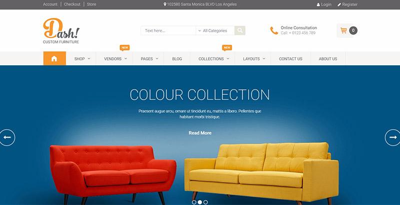 Temas de WordPress para vender ropa o muebles | BlogPasCher