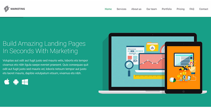 10 Temas de WordPress para crear un sitio web de la agencia de ...