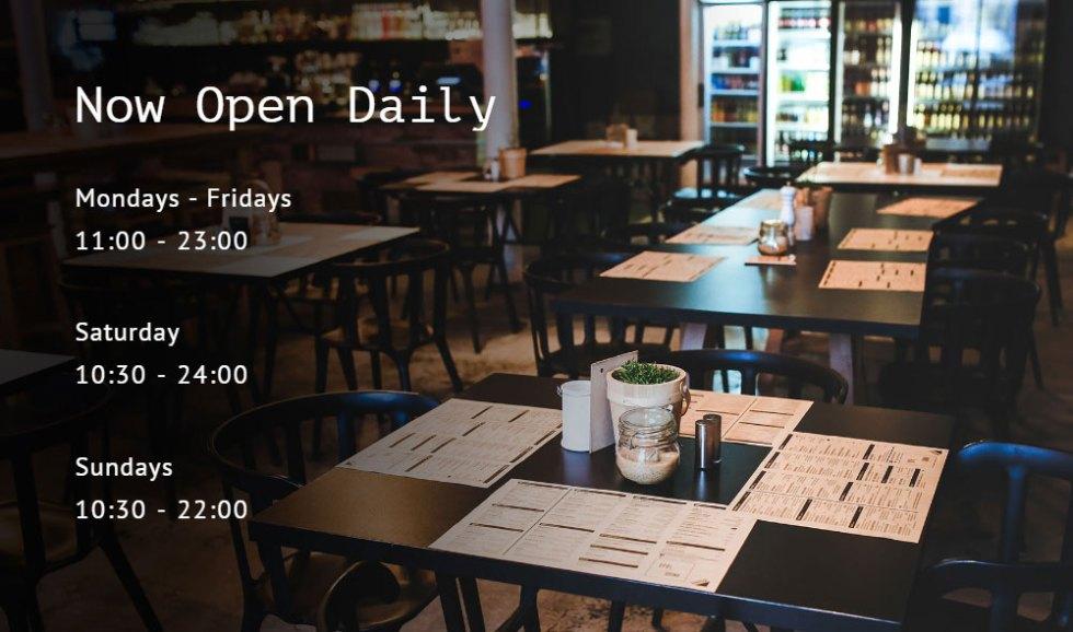 Total wordpress theme revue cafe
