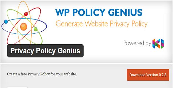 plugins de WordPress 7 para una Política de privacidad | BlogPasCher
