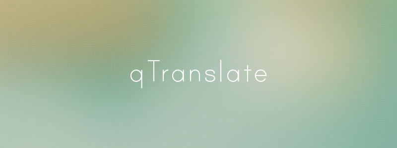 Qtranslate free translation wordpress plugin