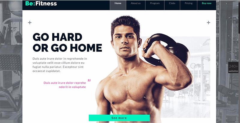 Betheme themes wordpress creer site web fitness sport yoga athlete equipe