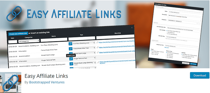 Easy affiliate links plugin wordpress masquer lien affiliation