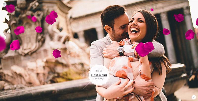 Idylle themes wordpress creer site web mariage fiancailles epouse