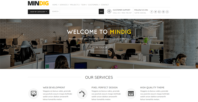 Mindig themes wordpress creer reseau social site web communautaire