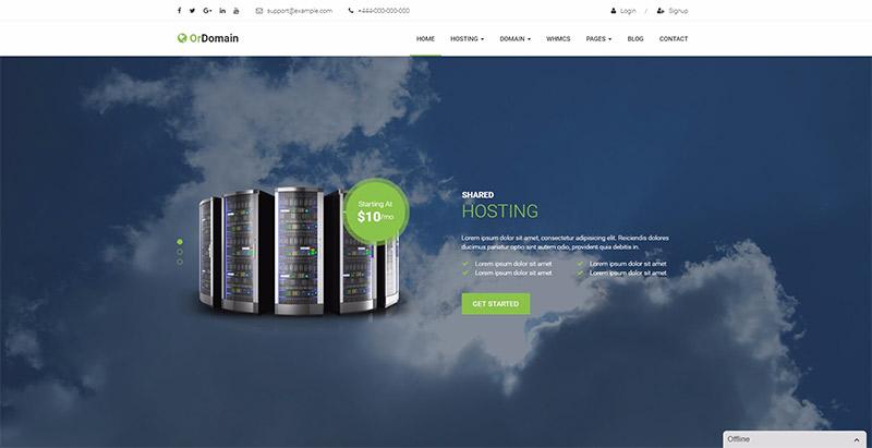 10 temas de WordPress para web sitio de negocio de alojamiento ...