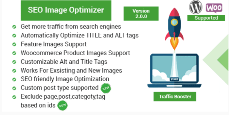 Seo image optimizer for wordpress woocommerce traffic booster
