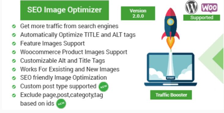 Seo image optimizer for wordpress woocommerce traffic booster