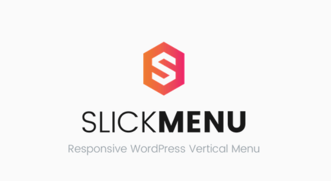 Slick menu responsive wordpress vertical menu