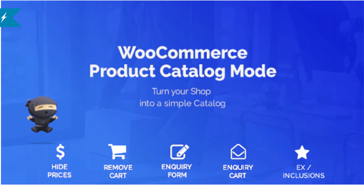 Woocommerce product catalog mode enquiry form plugins wordpress gerer catalogue produits