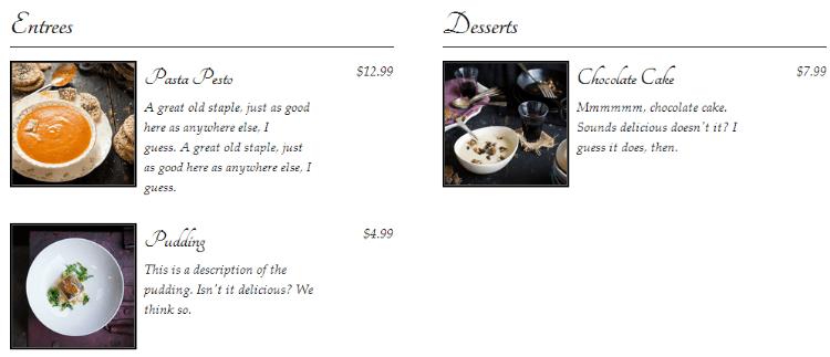 Best wordpress restaurant plugins food and dring plugin wordpress