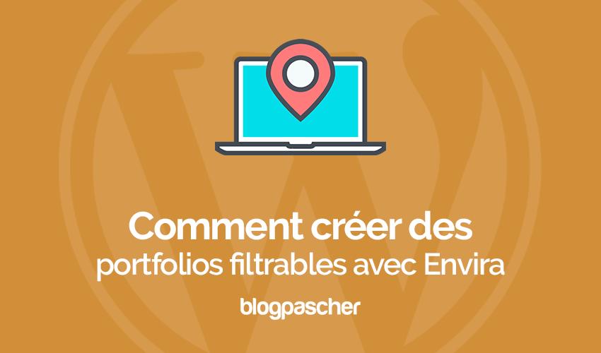 Cómo crear una cartera de WordPress filtrable | BlogPasCher