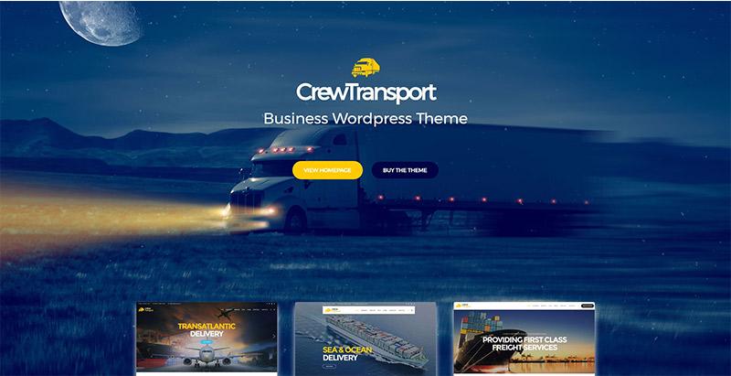 10 Thèmes WordPress Pour Créer Un Site Web D'entreprise De Logistique / Transports