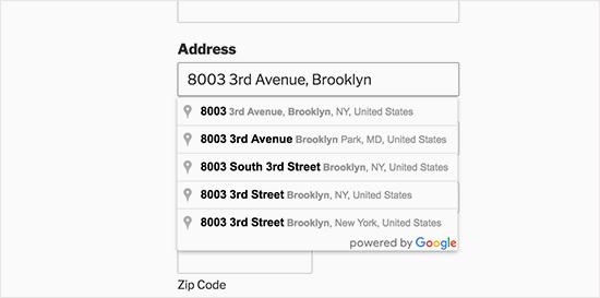 Emplacement google et google map