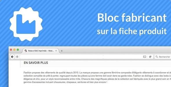 fabricante-bloque-en-producto-páginas-complemento-prestashop-para ...