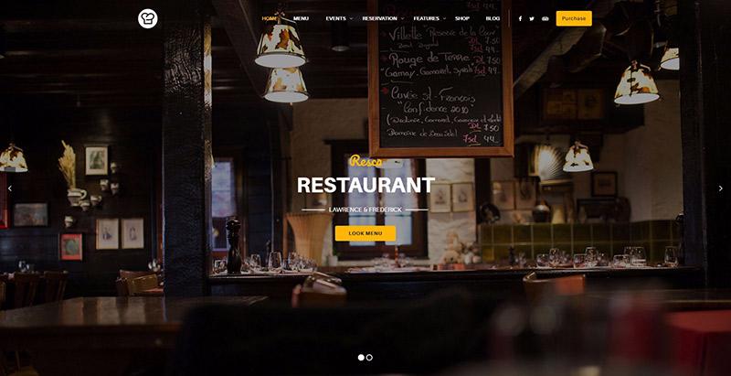 10 WordPress temas para crear un sitio web de restaurante ...