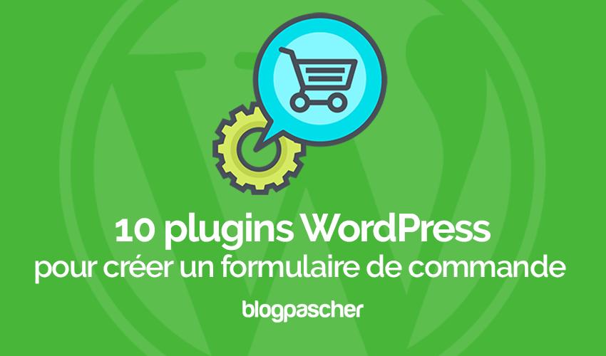 10 плагинов Wordpress для создания формы заказа