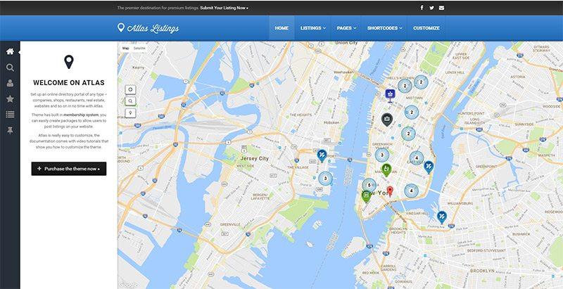8 WordPress temas directorio de anuncios o página web | BlogPasCher