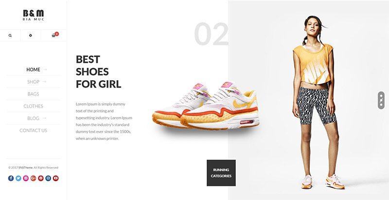 10 Temas de WordPress para crear un zapato de las ventas de comercio ...