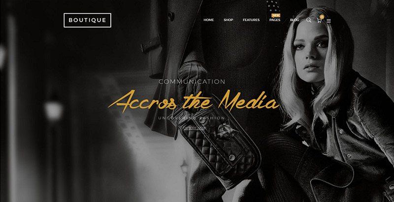 Boutique themes wordpress creer site ecommerce multi vendeurs boutique en ligne