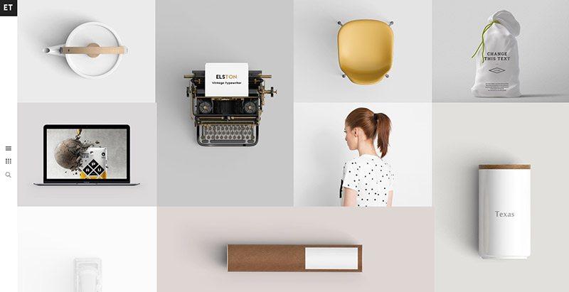 Elston themes wordpress creer site web portfolio freelances photographes