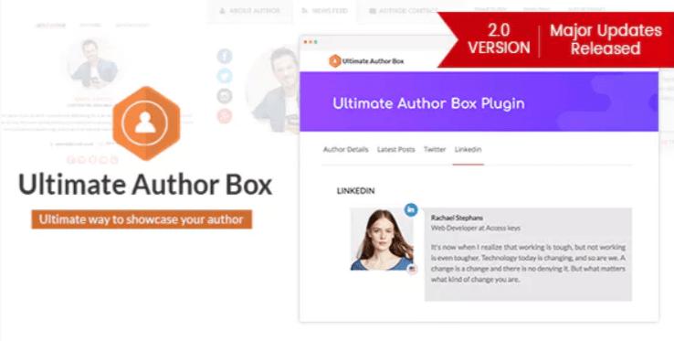 meilleurs plugins WordPress pour ajouter une section auteur - Ultimate author box