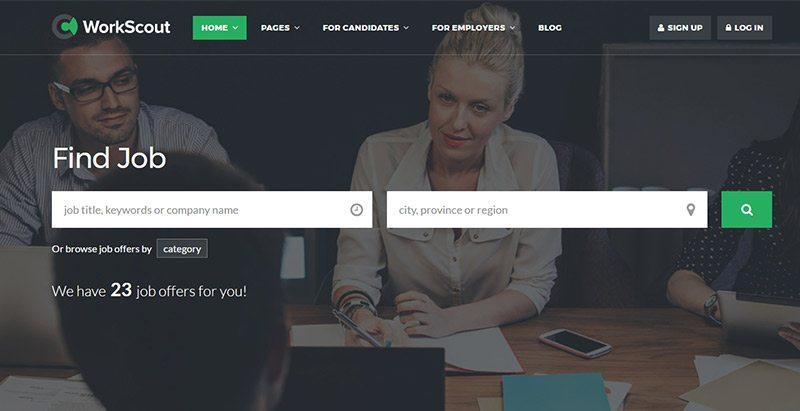 9 thèmes WordPress pour créer un site Web d'offres d'emploi