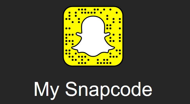 Ajouter un snapcode