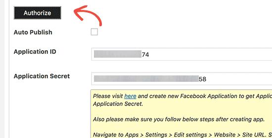 Autorisation plugin wordpress