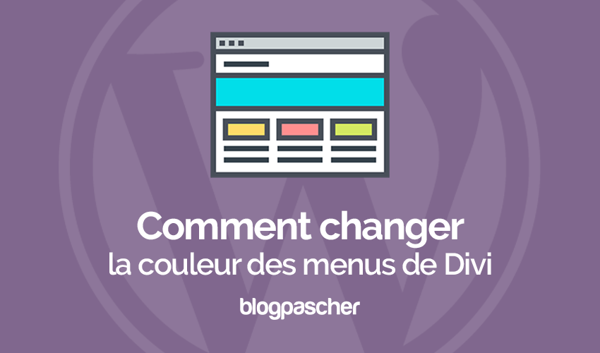 How to change the color of the divi navigation menus