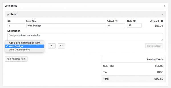 Cómo Crear Y Administrar Sus Facturas Directamente En WordPress - Como hacer un invoice de trabajo