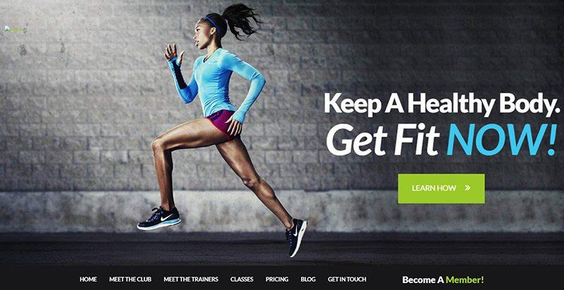 10 thèmes WordPress pour créer un site Web de club de fitness